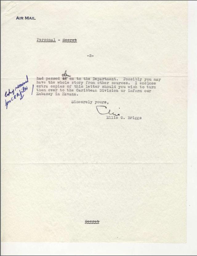 Bacardi Letter, pg. 2